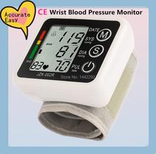 2014 Time-limited Promotion Wrist Sphygmomanometer Health Monitors Digital Tonometer Blood Pressure Monitor Cuff free Shipping