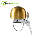 RockBros Bike Handlebar Bell Classical Stainless Bell Cycling Horns Horn Crisp Sound Bike Horn Safety Bicycle