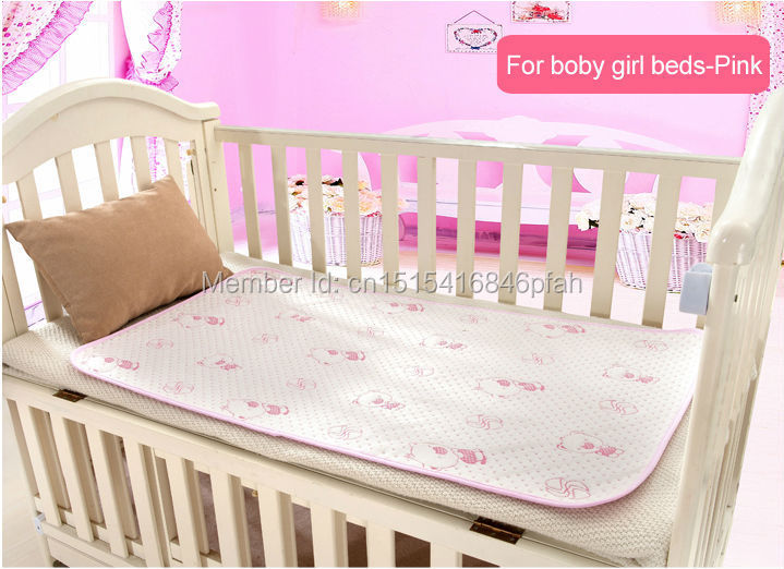50 70cm Baby changing pads water proof baby Diapers 4 Layer Inserts 100 Cotton Washable Reusable