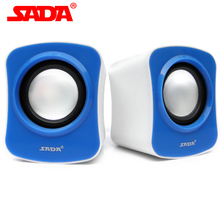 New 2015 Portable Minn Computer Speakers 3.5mm Audio Subwoofer Speaker For Laptop USB PC Speaker Free Shipping