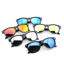 FCFO Vintage Baby Boy Girls Kids Sunglasses Top Fashion Coating Sunglasses Children Sun Glasses Oculos De Sol Gafas infantile