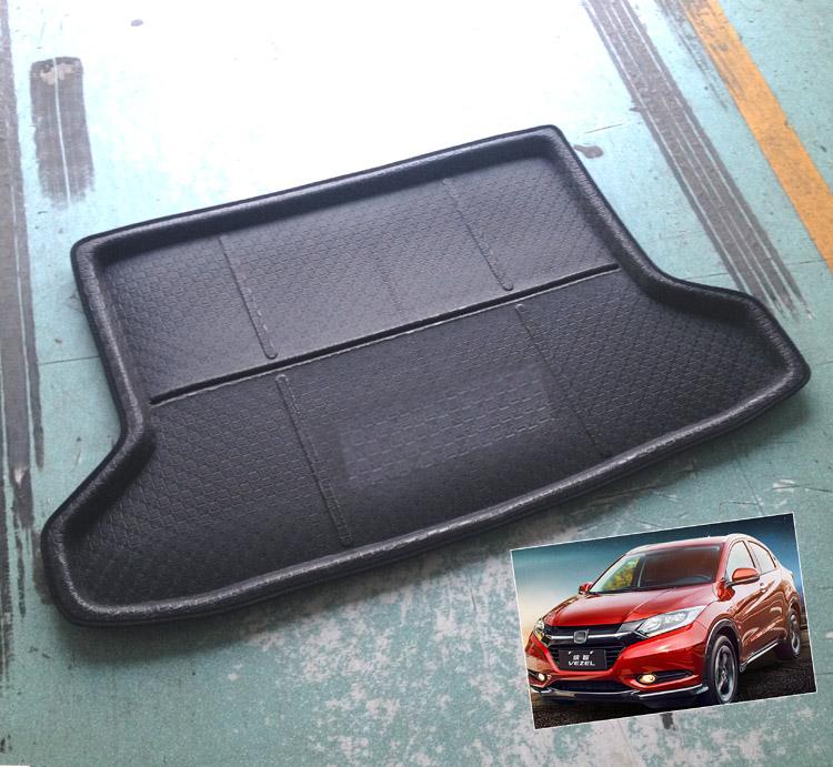 accessories fit for 2014 2015 2016 honda hr v vezel hrv boot mat rear trunk. Black Bedroom Furniture Sets. Home Design Ideas