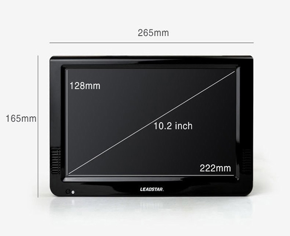 Leadstar Ld 1088 10 2 Inch Mini Tv Led Portable Tv Hd
