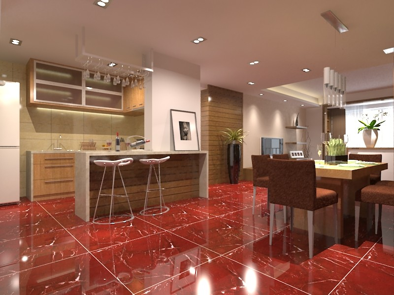 600x600 Floor Tiles >> Hs650gn Burgundy Floor Tiles/manufactured Stone/burgundy