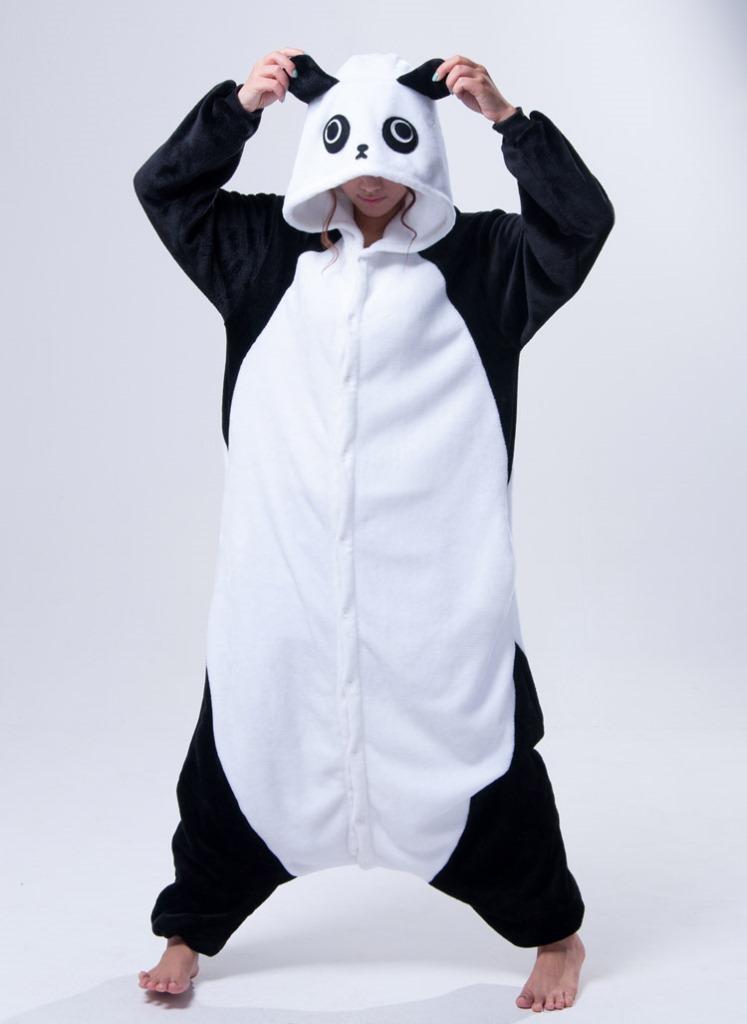 панда sleepsuit jp аниме пижамы панда косплей костюм пижамы Толстовки  унисекс взрослых onesie пижама пижамы c81b1167970bc