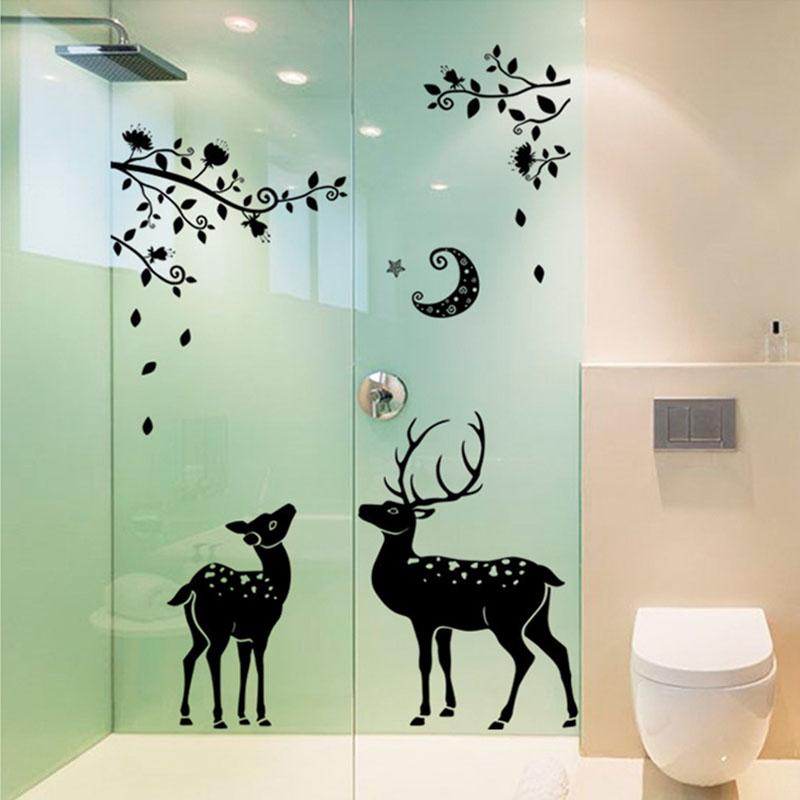 Cheap Bathroom Wall Decor: Online Get Cheap Deer Bathroom Decor -Aliexpress.com
