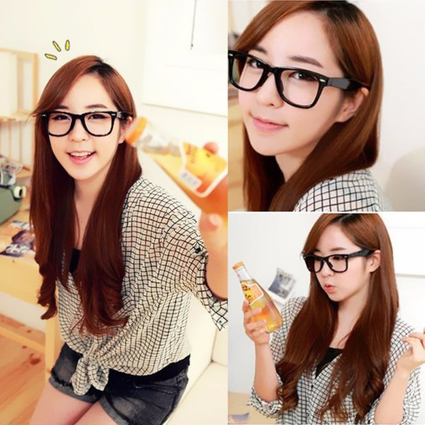 096e3218eb ... Color Frame Eyeglasses Nerd Glasses. Package include  1 x Unisex Glasses.  aeProduct.
