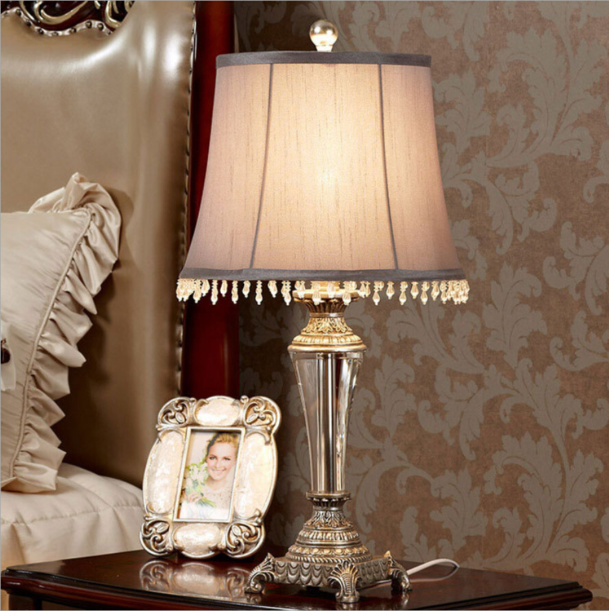 Webetop Vintage Crystal Table Lamps Fashonial Europe Style