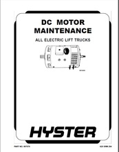 New Hyster Repair Manuals PDF 2015 for FULL SET version