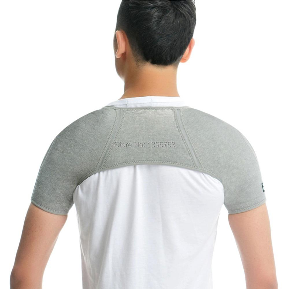 EgoeLife Light Weight Shoulder Support Brace Posture Gym ...