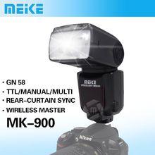 Meike MK-900 TTL i-TTL LCD Flash Speedlite for Nikon SB-900 D7100 D7000 D5100 D5200 D800 D800E D600 D300 VS Yongnuo YN-565EX II