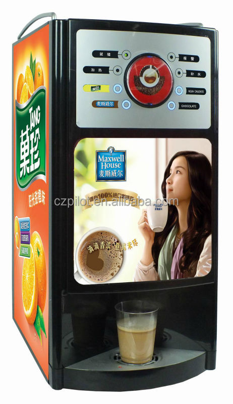 Smart Commercial Instant Coffee Machine Gaia 3s View
