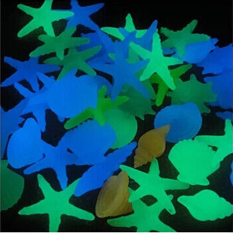 Swimming pool accessories fish tank aquarium decoration - Glow in the dark swimming pool toys ...