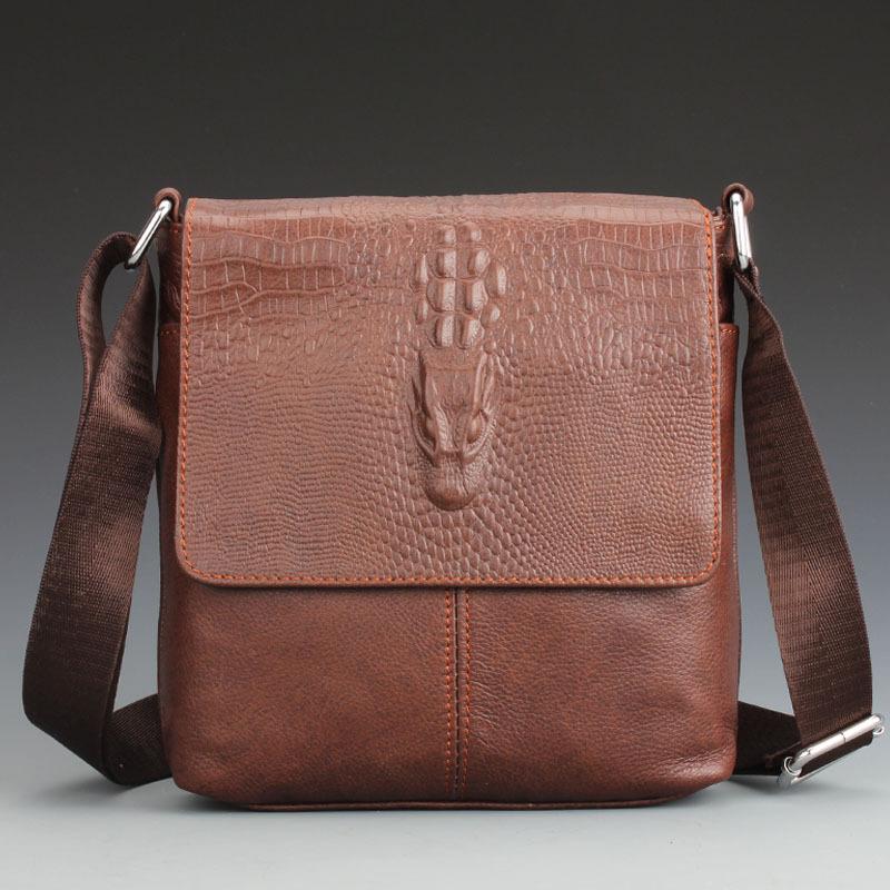 Мужчины в кожа наплечная сумка сумка-мессенджер свободного покроя мешок мягкая сумка
