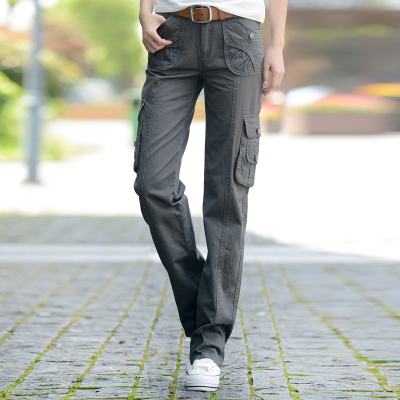 c5a48cd6ec35 Gray Cargo Pants For Women