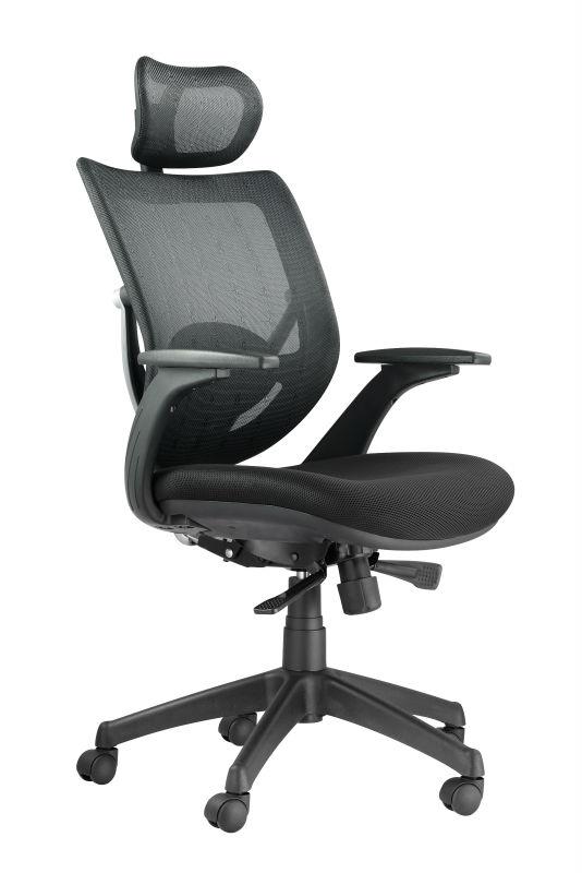 kb 8904as ergonomischen b rostuhl mit hoher qualit t. Black Bedroom Furniture Sets. Home Design Ideas