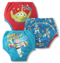 3pcs lot Baby Potty Training Pants Child Diaper Cover Reusable Washable Training Urine Nappies Cartoon Nappy