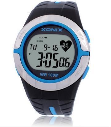 Горячая! Монитор сердечного ритма мужская спортивные часы водонепроницаемый 100 м мужчины и женщины цифровой часы плавание с аквалангом руки Montre Homme
