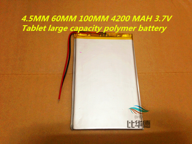 Новый 4560100 3.7 В 4200 мАч планшет аккумулятор полимерный аккумулятор 3.7 В эльф куб u25gt, Onda 7 дюймов / DVD полимерный аккумулятор