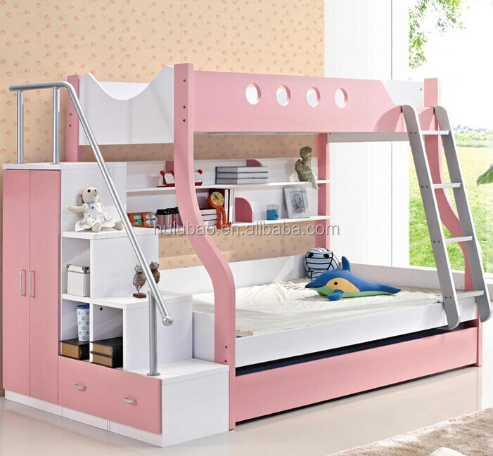 2015 New Style Kids Mdf Queen Size Bunk Beds Cheap