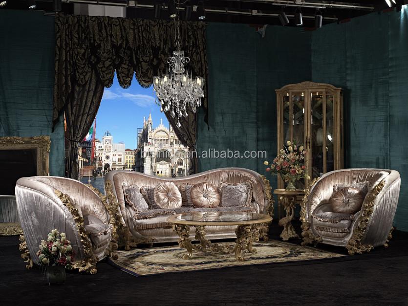 2015 New Arrival Luxury European Victorian Wooden Living