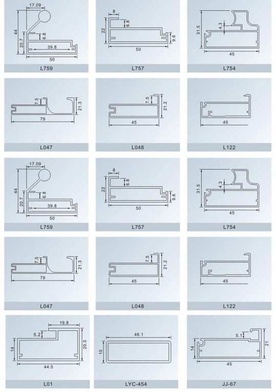 Aluminum Door Frame Profiles Damnxgood Com
