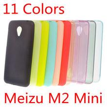 Meizu M2 Mini Case 5 inch Ultra Slim Fit 0.5mm Soft Transparent TPU Skin Phone Cover for Meizu M2 Mini Clear/Gray/Blue/Pink/Gold
