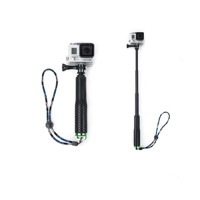 Selfiestick 190 мм-490 мм Высокое качество монопод для gopro4/gopro3/3 +/2 SJ4000 Действий камера самообслуживания Селфи Палки для спорта камеры