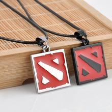 New 2015 Hot Network Game Dota 2 Pendant Necklace Europe America Women And Men Enamel Necklace Game Jewelry men's Gifts