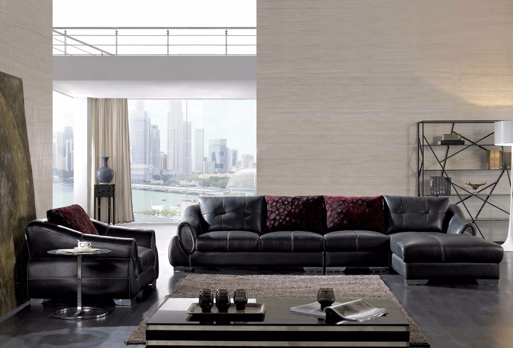 US $1260.0 |2019 Sectional Sofa Bean Bag Chair Chaise Armchair Hot Sale  Italian Style Leather Corner Sofas For Living Room Furniture Sets-in Living  ...