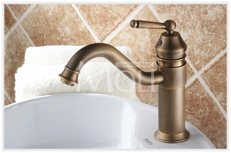 7 Faucet Finishes For Fabulous Bathrooms: 2019 Wholesale Vintage Style Antique Faucet Black And Army