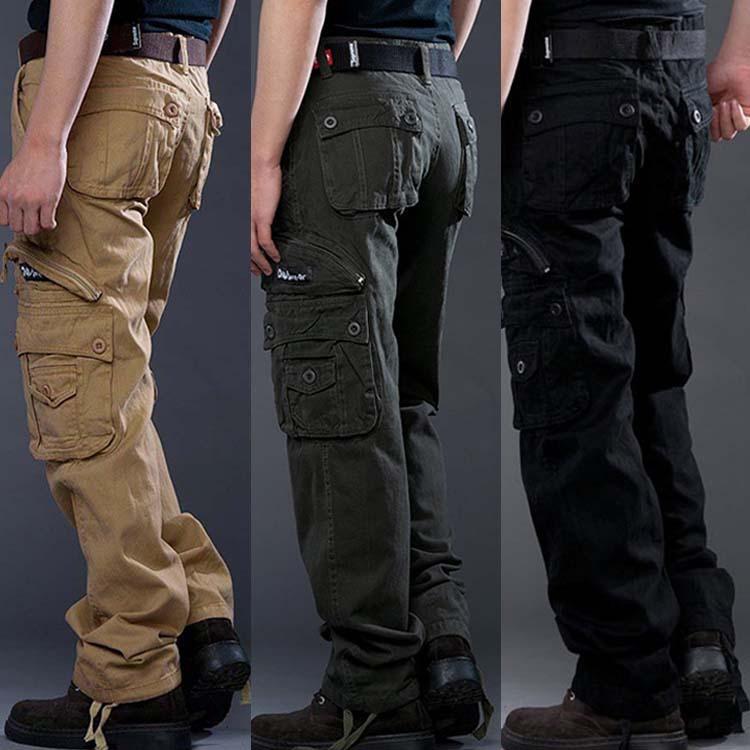 black tactical cargo pants - photo #6