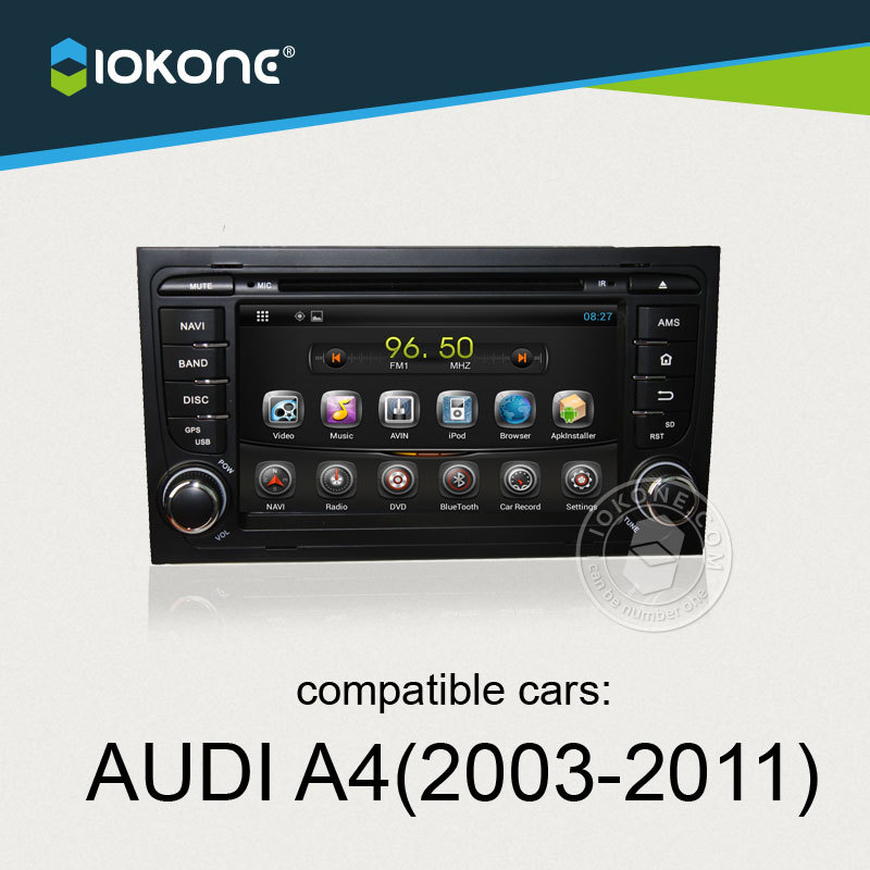 Android Car Multimedia Stereo For Audi A4 2003 2004 2005