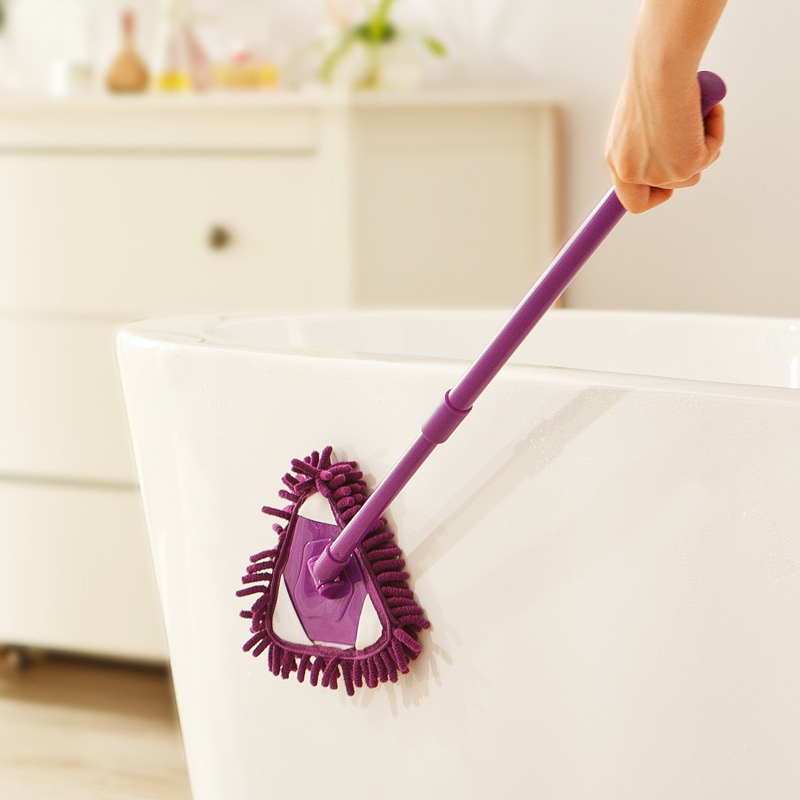 People Cleaning Kitchen: Multifunction Scalable Lazy People Dust Floor Cleaning Mop