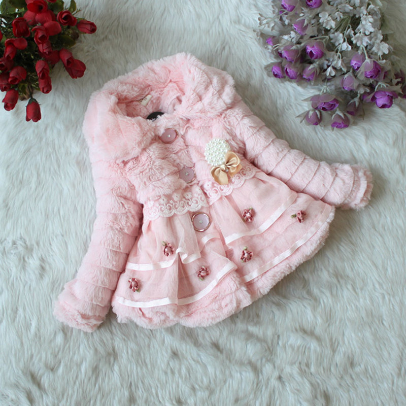 Mayoral Baby girl Faux Fur coat. Color Natural. Item #: Mayoral Baby girl Faux Fur coat.