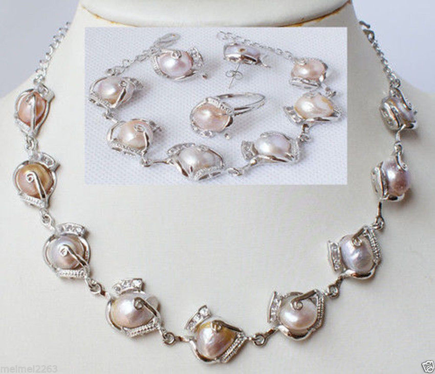 Cheap Pearl Necklace Sets: Wholesale FREE SHIPPING >>>>Fashion Jewellery Freshwater