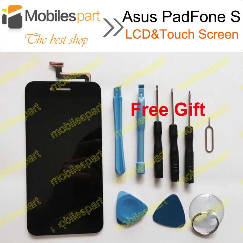 100% оригинальный жк-дисплей + сенсорный экран замена тяга для Asus PadFone S PF500KL PF-500KL PF500 T00N бесплатная доставка