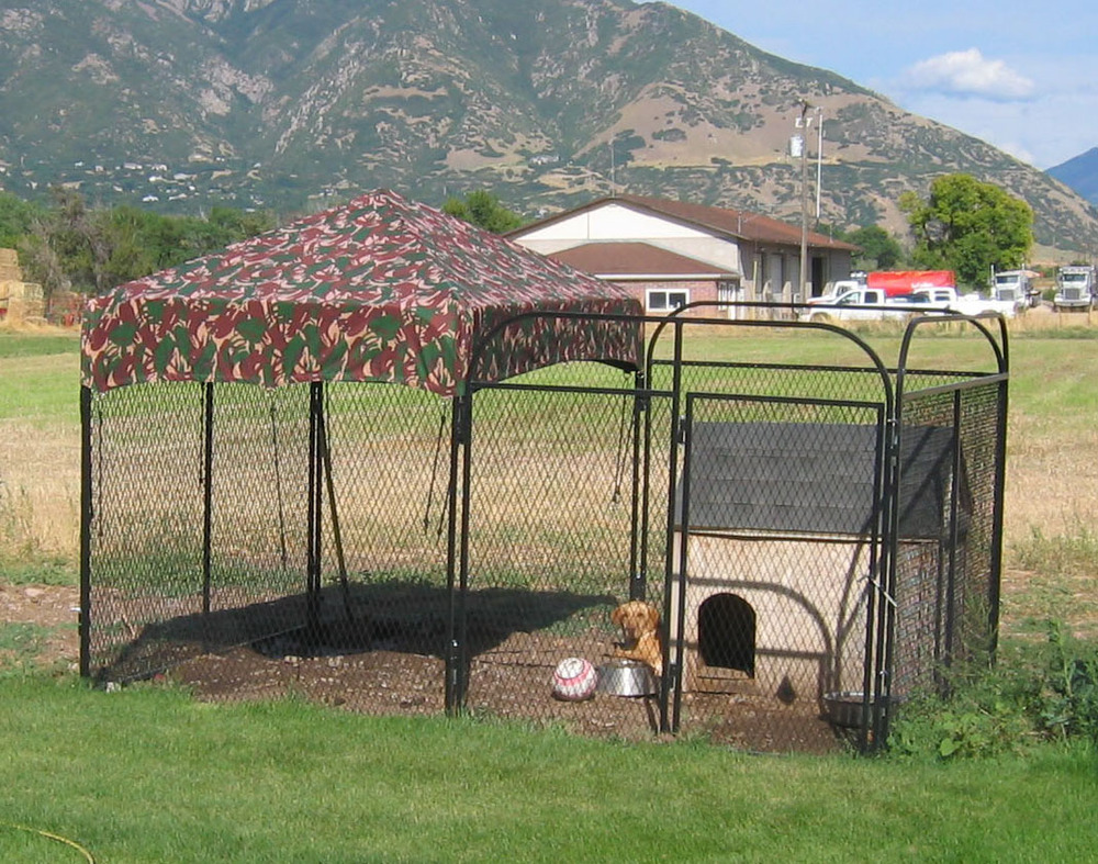 6 Eco Friendly Diy Homes Built For 20k Or Less: Outside Dog Kennels Large Outdoor Indoor Cage 10x10x6 Pets