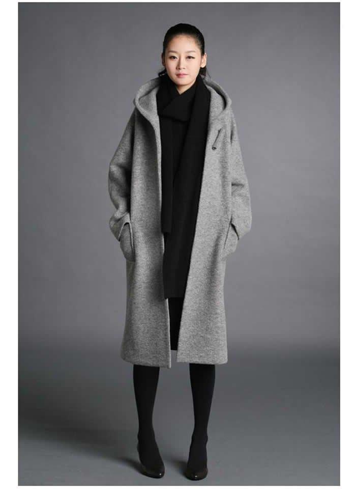 Amazoncouk black wool coat women Clothing