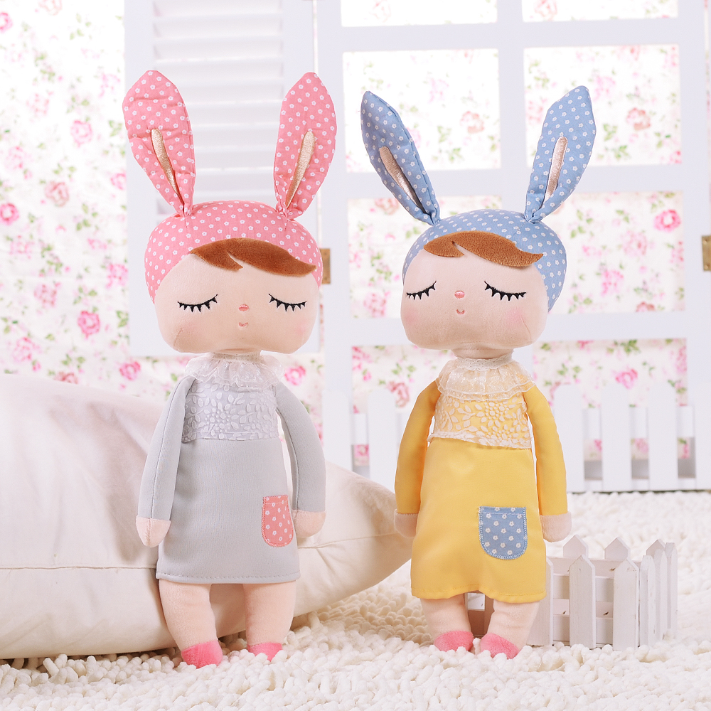 Cute Soft Handmade Bunny Rabbit Toys for Girls Bedroom Kids Pillow Sleeping Pillow for Girls Gift