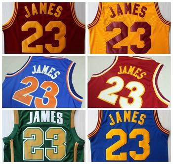 4519222d99f6 Free shipping  23 LeBron James Basketball Jersey New Season All Style James  Sport Jerseys Rev 30 ...