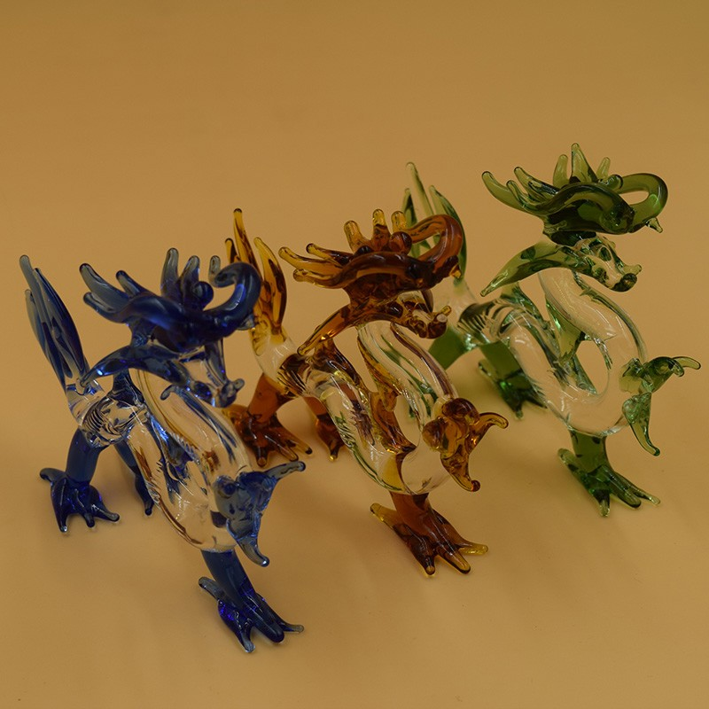 online kaufen gro handel glass dragon figurines aus china glass dragon figurines gro h ndler. Black Bedroom Furniture Sets. Home Design Ideas
