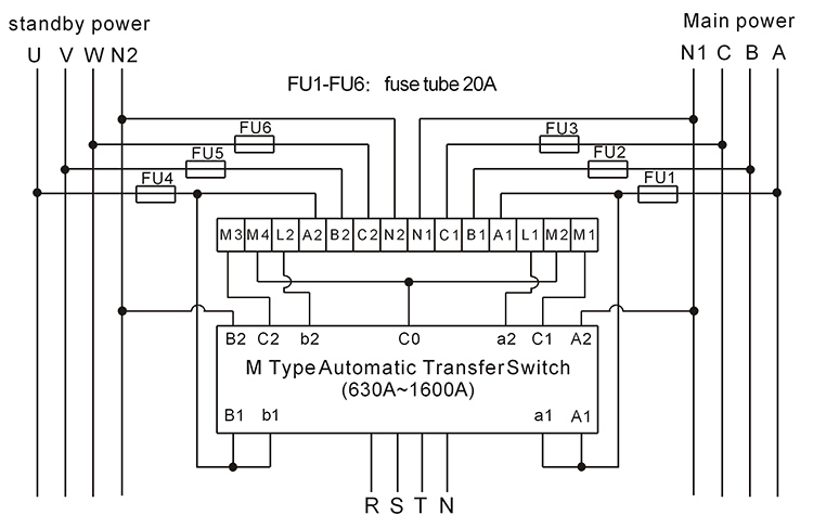 123 Automatic Transfer Switch Controller/ats Control ...