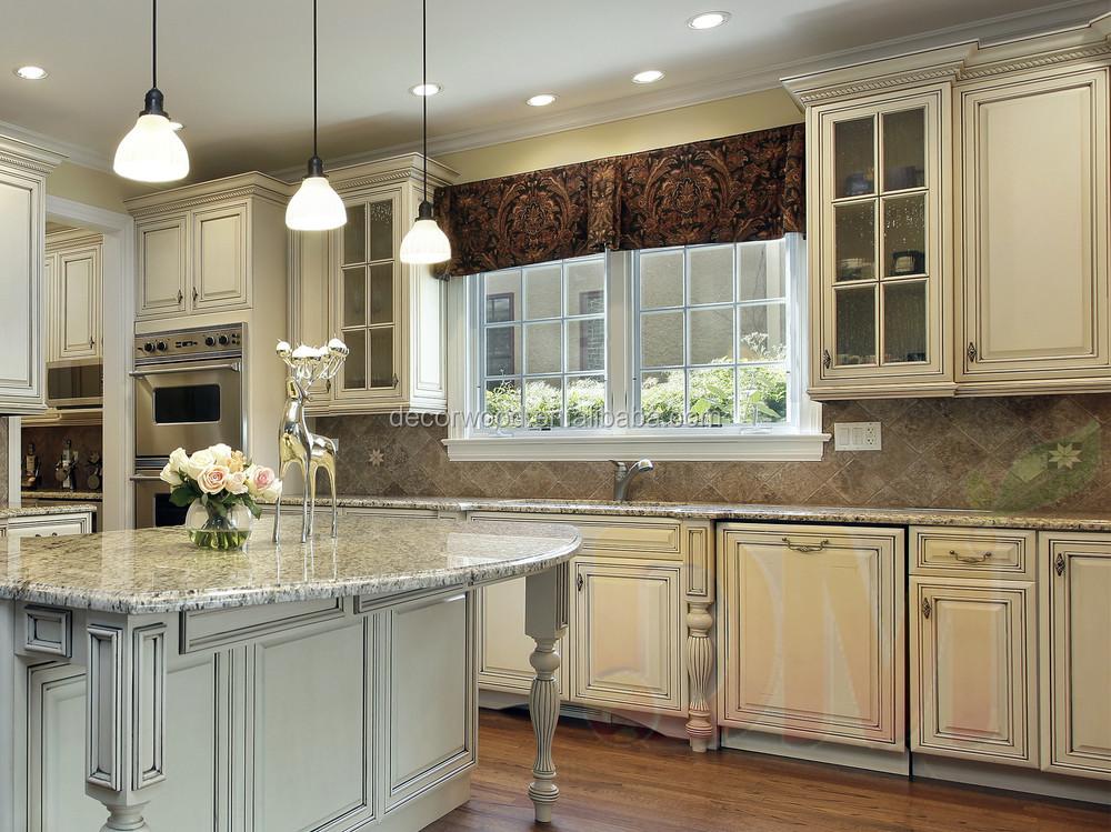 muebles de cocina en madera color blanco diseo