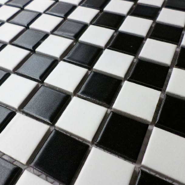 Black And White Check Kitchen Accessories
