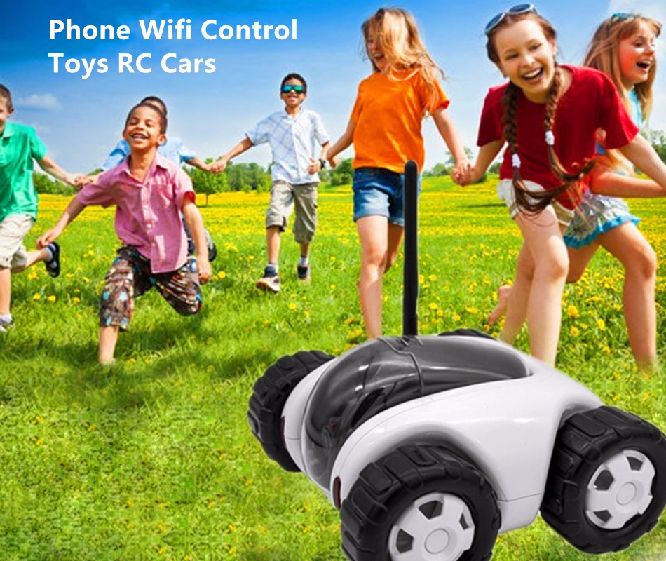 Tablet Phone Wifi Control Toys RC Cars Shooting Video