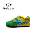 TIEBAO Professional Outdoor Football Boots Teenagers National Flag Training Soccer Shoes Children Kids TF Turf Shoes