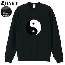 LOST Swan DHARMA Yoga lotus Tai Chi Ба-gua Yin Yang Tai ji Space Time I Ego Self для женщин и девочек, флисовый пуловер, свитшоты ZIIART()