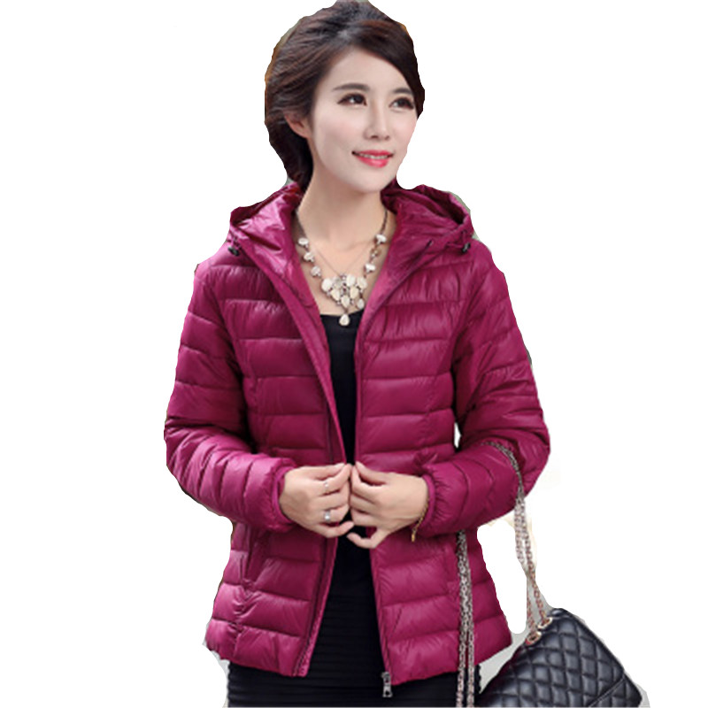 Women font b Winter b font Jacket 2016 Casual Plus Size 5XL Cotton Coat Female Hooded