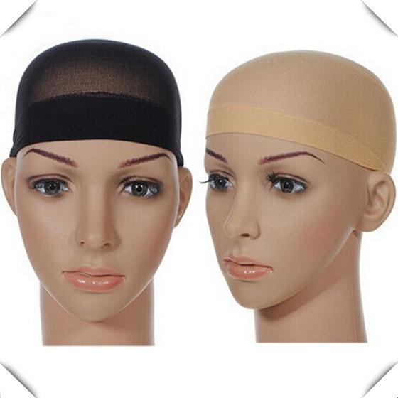 2 шт. мужская эластичный парик шапки для производства париков glueless сетку для волос парик лайнер cap сетку для волос нейлон эластичной сетки
